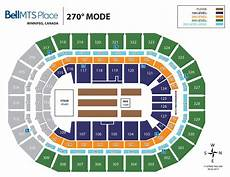 Bell Center Seating Chart Seating Bell Mts Place Bell Mts Place