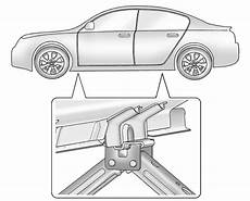 2011 Buick Lacrosse Point When Using Floor Jack I Am