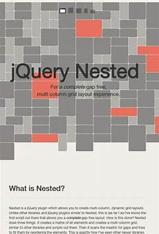 Jquery Chart Tools Jquery Nested Is A Jquery Plugin Which Allows You To