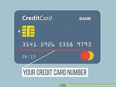 My Creditcard Number How To Find Your Credit Card Account Number 7 Steps