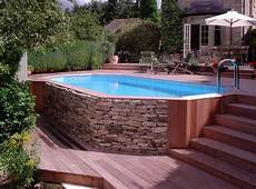 Above Ground Swimming Pool Designs Above Ground Saltwater Swimming Pools Pool Design Ideas