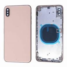 Iphone Xs Max Lock Screen Size by Iphone Xs Max Back Housing Gold No Small Parts