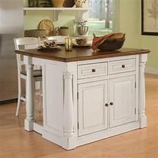 kitchen island styles home styles white midcentury kitchen islands 2 stools at