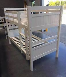 bunk bed king single solid white solid bunk new goingbunks biz