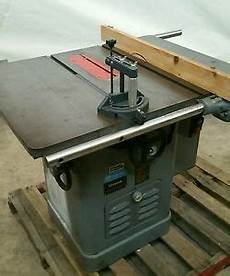 rockwell tablesaw unisaw delta cabinet 10 inch saw