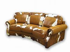 Cowhide Sofa 3d Image by Curved Cowhide Leather Sofa Part Of The Bill S