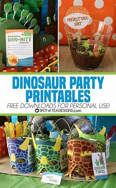 Printable Party Designs Dinosaur Party Printables Free To Download For Personal