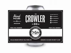 Crowler Label Design Crowler By Tyler Mccoy On Dribbble