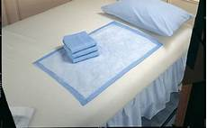absorbent disposable underpads for bedding or seating