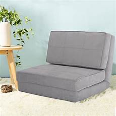 costway fold chair flip out lounger convertible