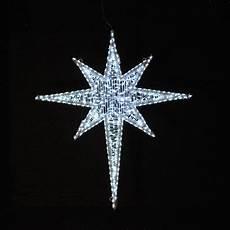 Led Lighted Star Of Bethlehem Holiday Lighting Giant Led Star Cool White 6