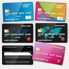 Credit Card Images Free Download Realistic Credit Card Set Download Free Vectors Clipart