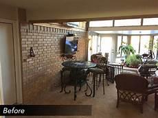 build sunroom enclosed sunroom with new sliding doors medford design build