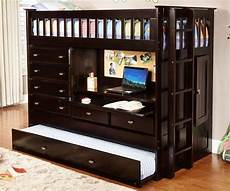 espresso all in one loft bed houston only ebay