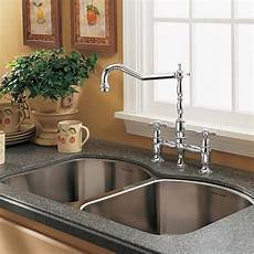 Faucets For Kitchen Sinks Culinaire Bridge Kitchen Faucet American Standard