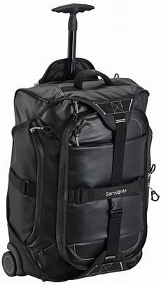 samsonite cabin bag samsonite paradiver duffle on wheels 55cm backpack black