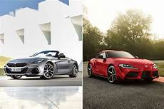 2020 toyota supra vs bmw z4 2020 toyota supra vs 2019 bmw z4 by the numbers