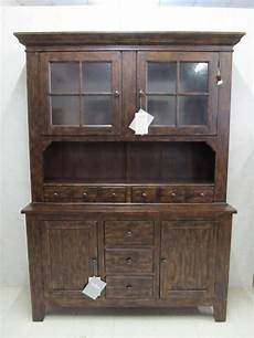 broyhill attic heirlooms rustic china cabinet hutch buffet