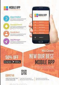 Best App To Make Flyers 60 Best Mobile App Promotion Flyer Templates 2020 App