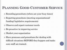 Customer Service Requirements Customer Service Skill