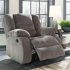 Signature Design By Tulen Gray Reclining Sofa And Loveseat Tulen Gray Rocker Recliner By Signature Design By