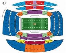 Soldier Field Seating Chart Soldier Field Maplets
