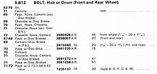 Chevy 10 Bolt Rear End Gear Ratio Chart Generic Rear Axle Info
