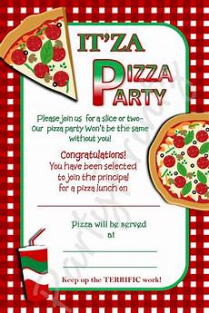 Free Party Invite Templates For Word Free Printable Pizza Party Invitation Template Free