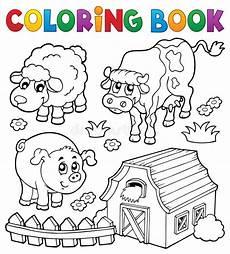 animali da cortile da colorare libro da colorare con gli animali da allevamento 6