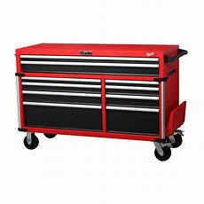 milwaukee high capacity 56 in 10 drawer roller cabinet