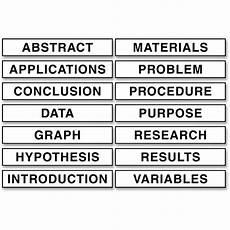 Science Fair Project Headings Pacon Corporation Tri Fold Presentation Boards 48 X 36