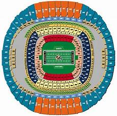 Saints Virtual Seating Chart Louisiana Superdome Seating Chart Gif 504 215 503 Pixels New