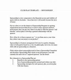 43 Free Sponsorship Letter Amp Sponsorship Proposal