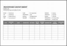 Inventory Count Sheets Template Physical Inventory Count Sheet Template For Excel Word