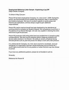 Sample Letter Of Recommendation For Employment Free 9 Employee Reference Letter Samples In Pdf Examples