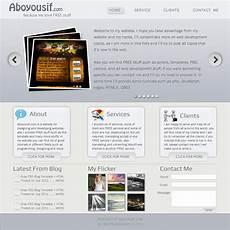 Portfolio Psd Template Free Download Free Portfolio Amp Business Psd Template 187 Scriptmafia Org