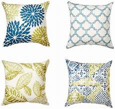 wendana set of 4 decorative pillow covers 18 x 18 quot yellow