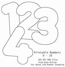 7 best images of printable numbers 0 10 free