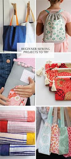 beginner sewing projects to try sewing projects for
