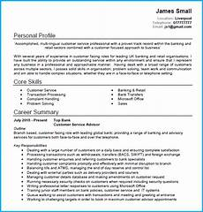 Customer Service Job Profile Customer Service Cv Example With Writing Guide And Cv Template