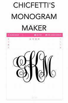 Design Your Own Online Lettering Monogram Maker Make Your Own Monograms Using Our Free