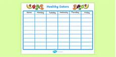 Healthy Chart Healthy Eating Class Chart Health Healthy Food Class Chart