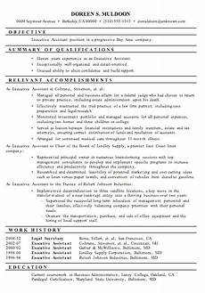 Administrative Functional Resume Resume Sample Executive Assistant