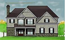 2 story 4 bedroom rustic house floor plan by max fulbright