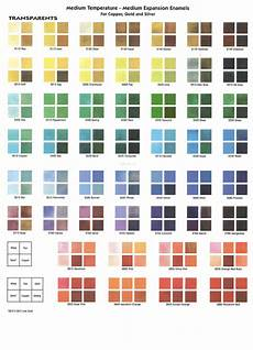 Ink Color Chart Color Chart Thompson Enamel