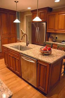 kitchen island with dishwasher 25 impressive kitchen island with sink design ideas