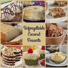 unforgettable coconut desserts 33 recipes with coconut