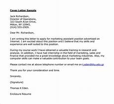 Operations Manager Cover Letter Samples Free 8 Sample Director Of Operations Cover Letter