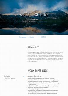 Resume For Account Account Executive Resume Samples And Templates Visualcv