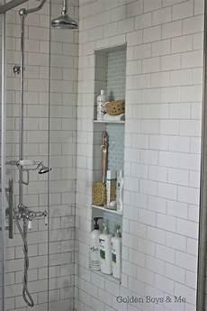 bathroom niche ideas golden boys and me shower niche tutorial